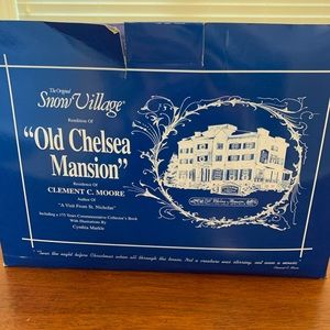 Old Chelsea Mansion (w/book)